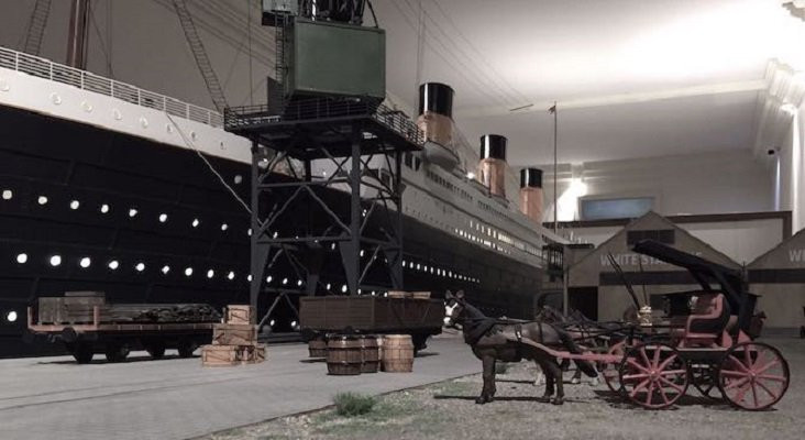 Exposicion titanic the reconstruction por babor